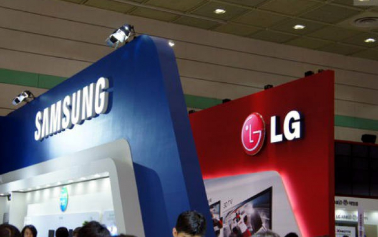 Samsung, LG Led The Display Panel Market in 2018