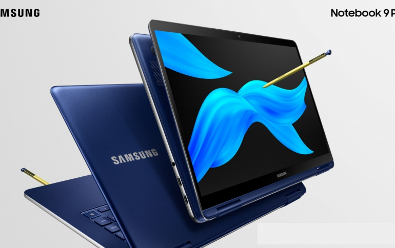 New Samsung Notebook 9 Pen 2-in-1 PC Comes With Improved Pen