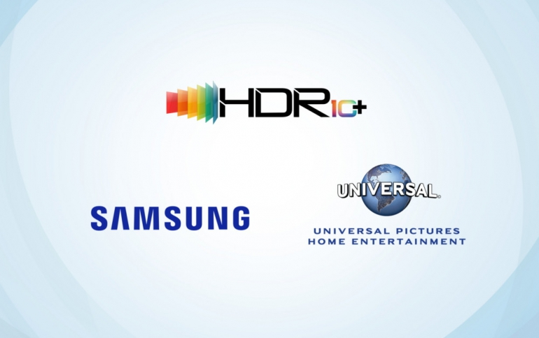 Samsung Collaborates with Universal Pictures Home Entertainment on HDR10+ Content
