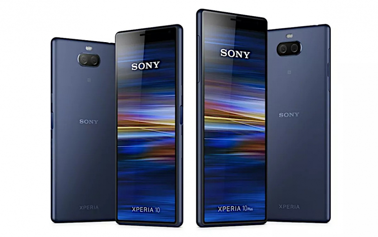 Sony's New Xperia Xperia 1, Xperia 10, 10 Plus and Xperia L3 Smartphones Leak Ahead of MWC 2019