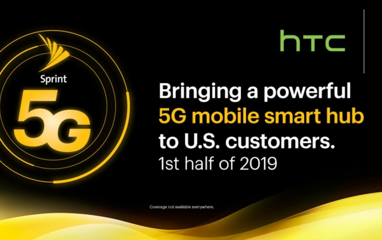 Sprint and HTC to Release 5G Mobile Smart Hub in First Half of 2019