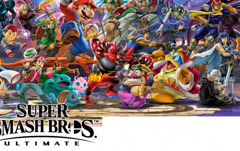 Super Smash Bros. Ultimate to Have a Dedicated Video Sharing Service