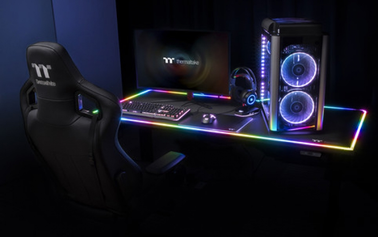 Thermaltake Reveals a $1,200 Motorized Desk for Gamers