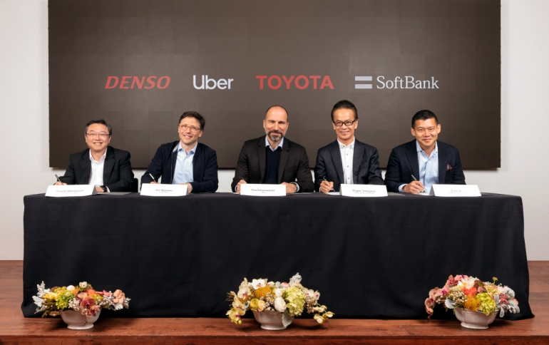 Uber Receives $1 Billion Investment From Toyota, Denso And SoftBank