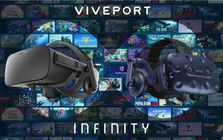 HTC's Unlimited VR Service Infinity Launches April 2nd for $99 per Year