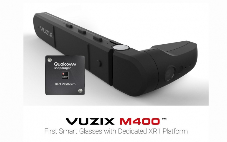 Vuzix Announces Qualcomm Snapdragon XR1 Based Enterprise Smart Glasses