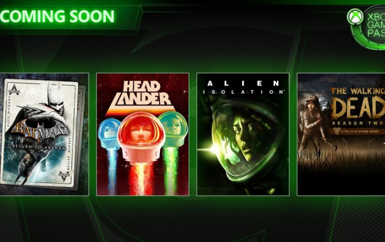 Alien: Isolation, The Walking Dead: Season 2, and More games Coming on Xbox Game Pass
