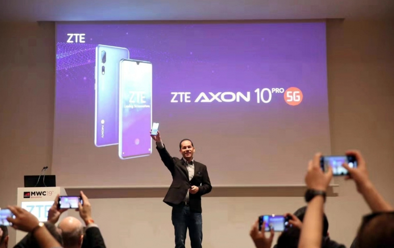 MWC: ZTE Announces the Axon 10 Pro 5G and the Blade V10 Smartphones
