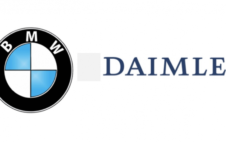 BMW and Daimler Plan a Joint Mobility Company in 2019