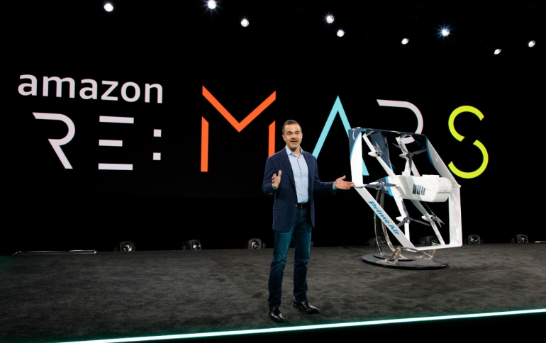 Amazon Unveils new Drone For Deliveries, StyleSnap Feature