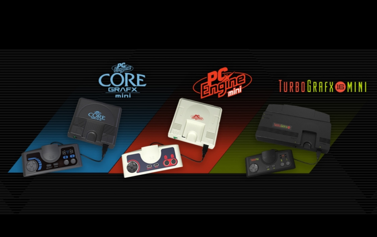 Konami Announces PC engine Core Grafx Mini Console