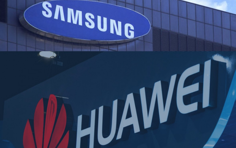 Huawei, Samsung to Settle Patent Dispute in Court