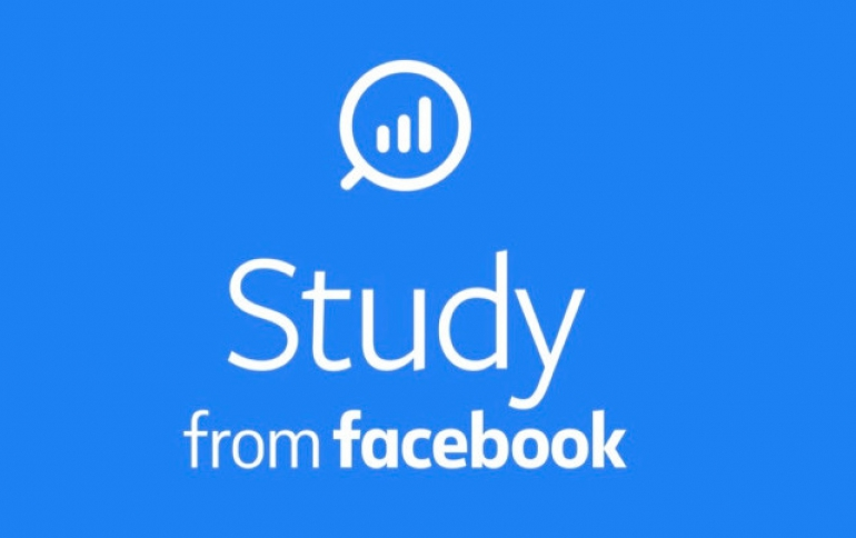 Facebook's Study App Will Reward You For Monitoring Your Activity