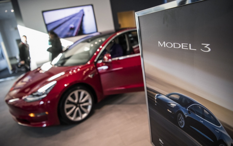 Tesla Seeks to Avoid U.S. Import Tariff for Chinese-made Model 3 Car Computer