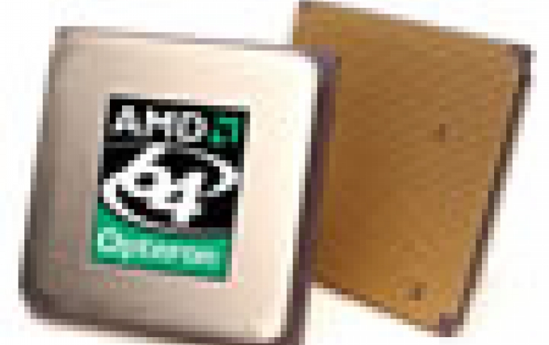 AMD Begins First Shipments of AMD64 Products Manufactured At Chartered
