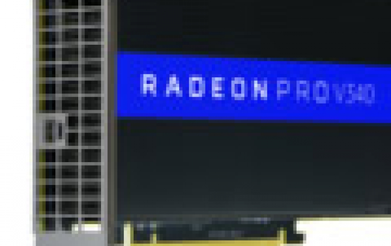 New AMD Radeon Pro V340 Graphics Card Delivers Accelerated Performance to Power Datacenter Visualization Workloads