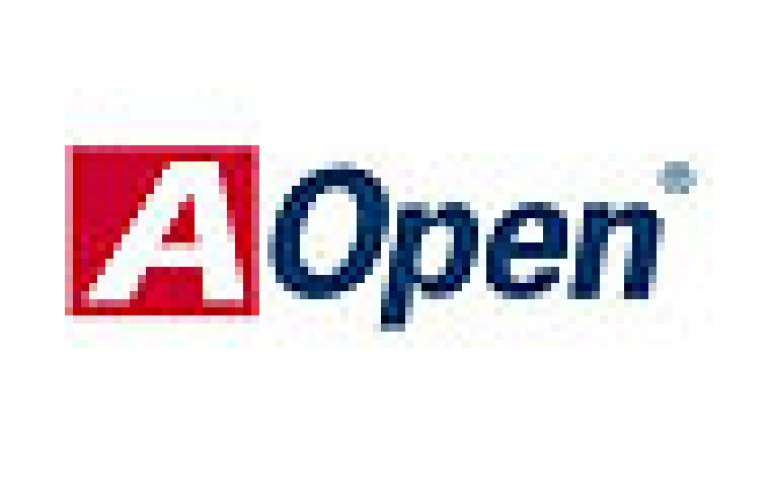 AOpen Debuts Dual-Core Chipset and ATX Pentium M Motherboards