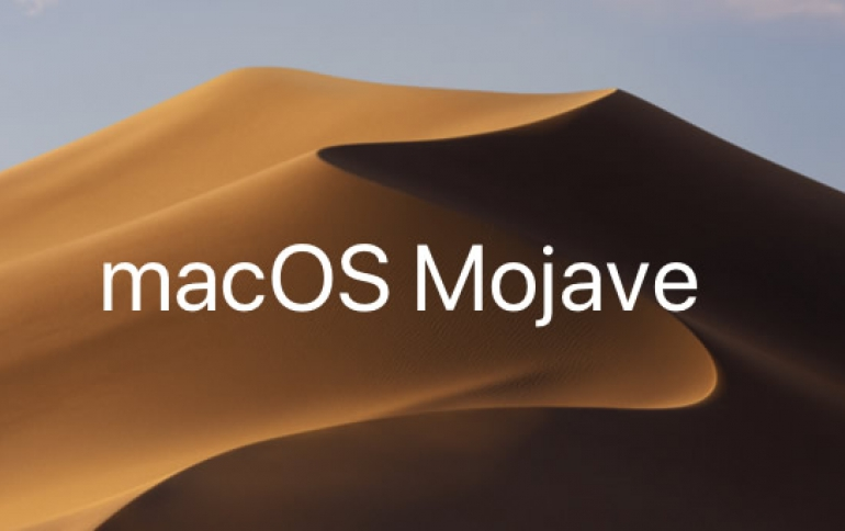 Apple macOS Mojave Update Brings Dark Mode, Stacks, New Apps, a Redesigned Mac App Store and More
