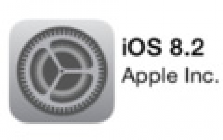 Apple iOS 8.2 Now Avaialable For Download