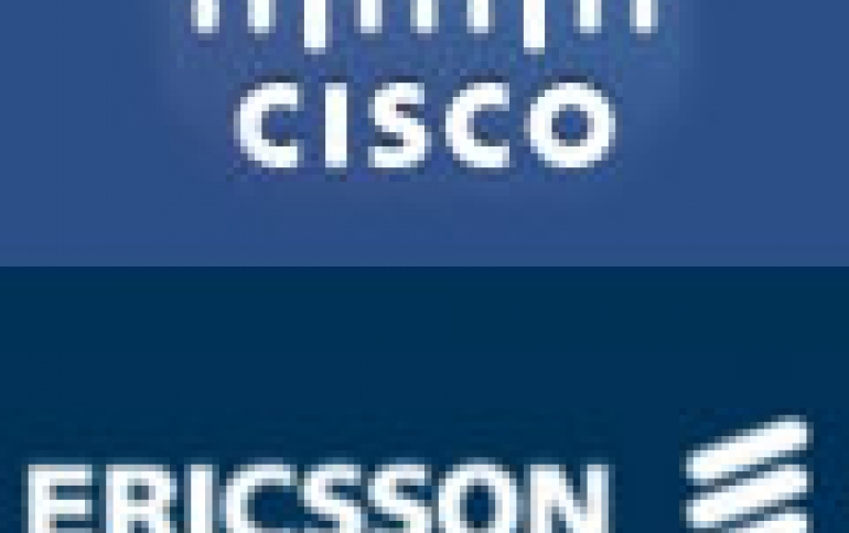 Cisco and Ericsson Partner On Future Networking Technologies
