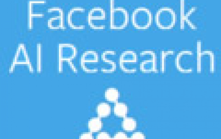 Facebook Reports Progress In Artificial Intelligence Research