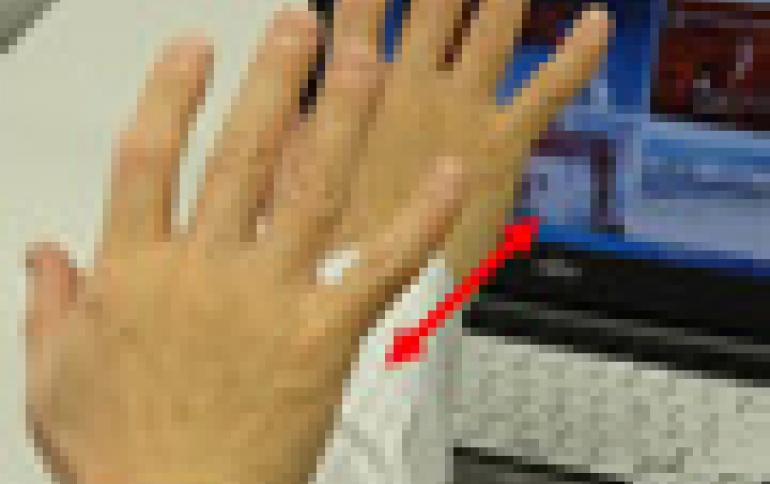 Fujitsu Develops 3D Gesture Recognition Technology