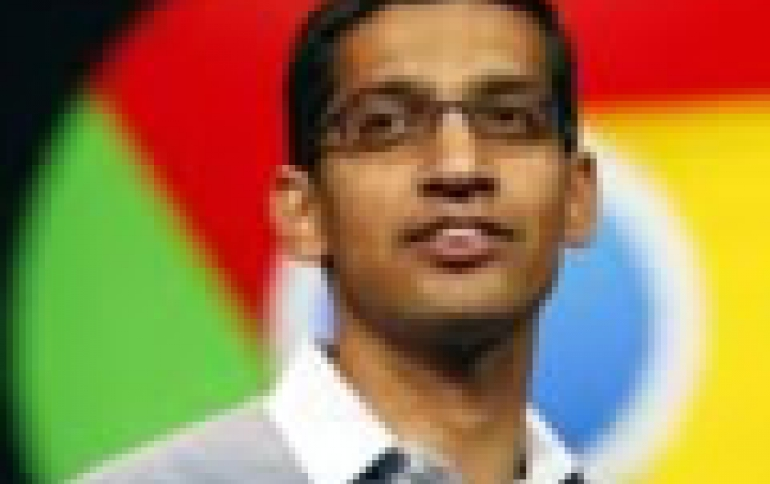 Google's Pichai to Become Head of Product at Google: report