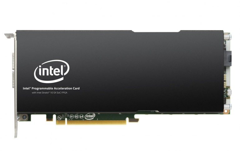 Intel Adds to Portfolio of FPGA Programmable Acceleration Cards