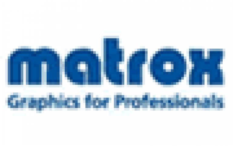 Matrox announces world's first low-profile PCI Express x1 graphics card
