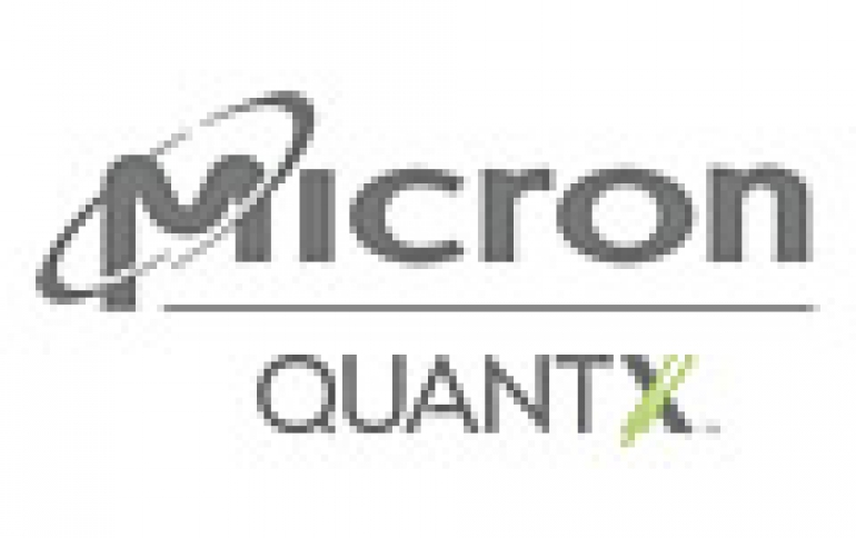Micron Announces QuantX Branding For 3D XPoint Memory, Releases 3D NAND flash for Mobile Devices