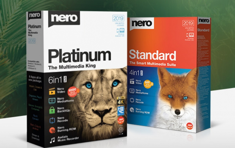 Multimedia-focused Nero 2019 Released