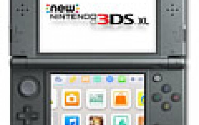 Nintendo Cuts Operating Profit Forecast On Slack 3DS Sales