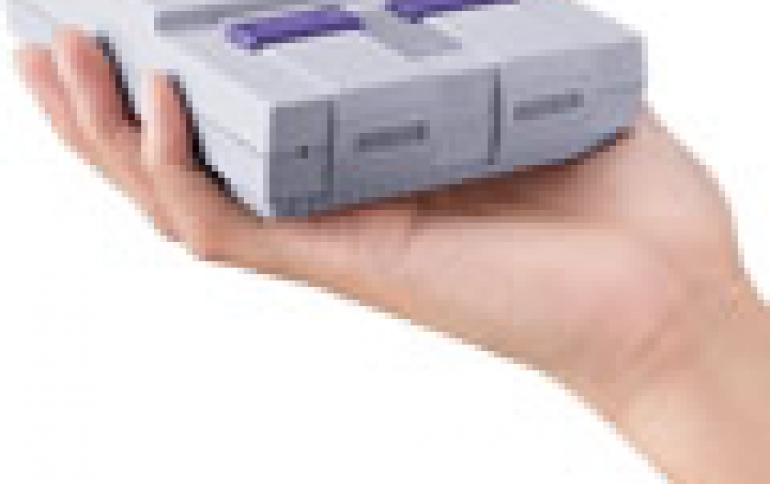 Nintendo Super NES Classic Edition Coming in September for $80