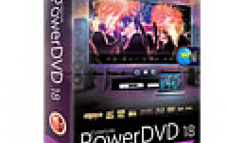 CyberLink PowerDVD 18 Supports Ultra HD Blu-ray and 4K HDR