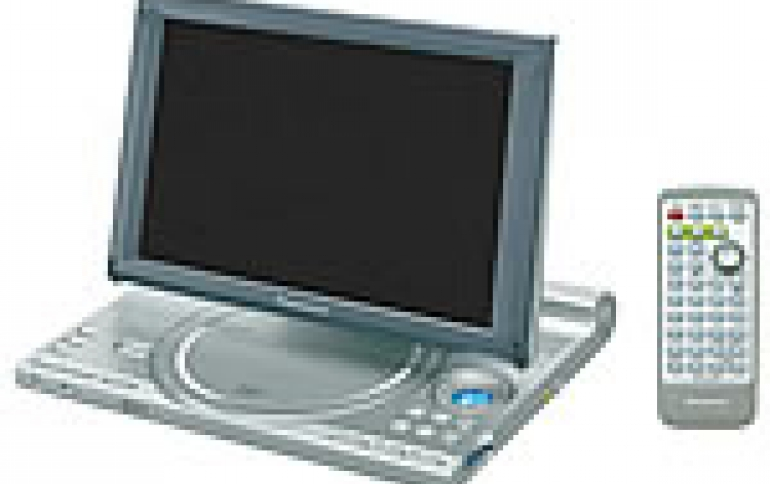 New Portable DVD Player from Panasonic