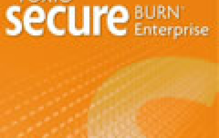 Roxio Secure Burn Enterprise Released
