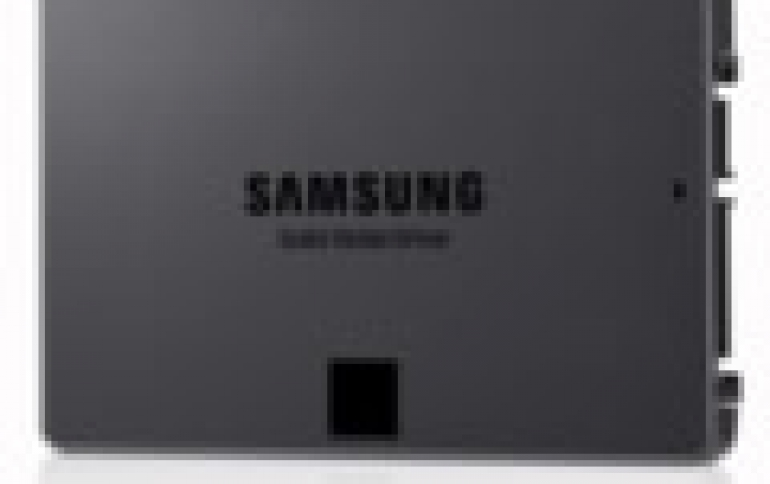 Samsung Starts Mass Production of Industry's First 4-bit Consumer SSD