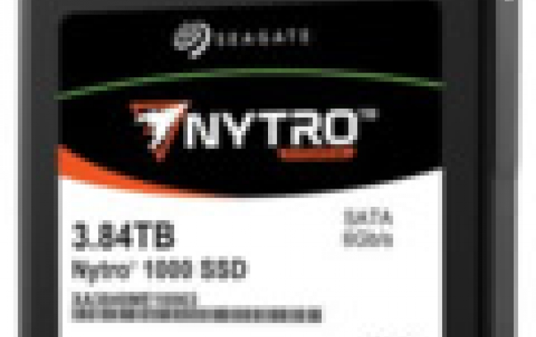 Seagate Launches Nytro 1000 SATA SSD Series with DuraWrite Technology