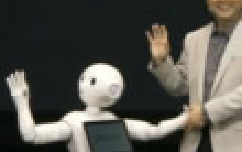 SoftBank's 'Pepper' Personal Robot Reads Emotions