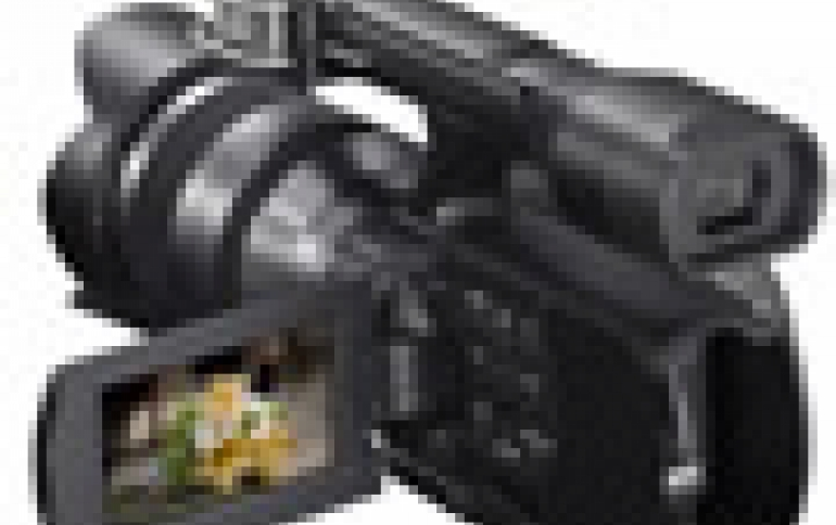 Sony Debuts First Consumer Interchangable Lens HD Camcorder