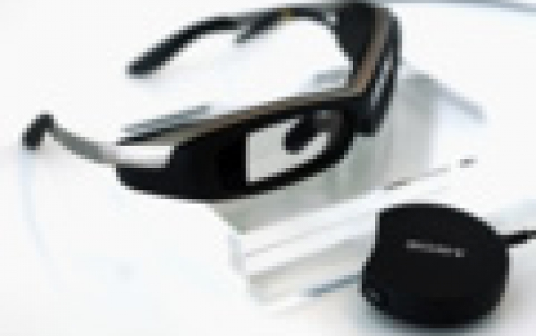 Sony SmartEyeglass Developer Edition SED-E1 Available In March