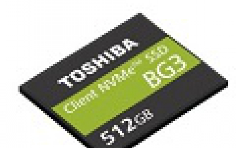 Toshiba Unveils Single Package NVMe Client SSD Utilizing 64-Layer, 3D Flash Memory