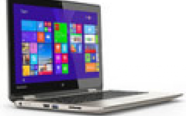 Toshiba Debuts New 2-in-1 Convertible PC with a 360-Degree Design