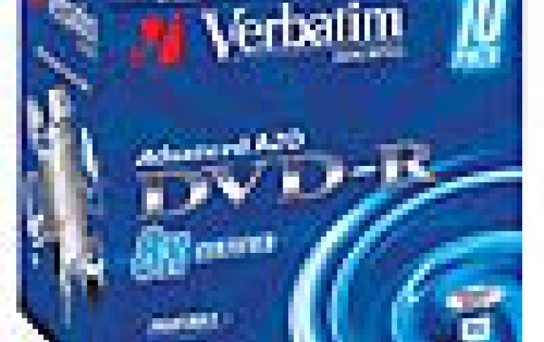 Verbatim Doubles DVD-R Media Write Speed to 16x