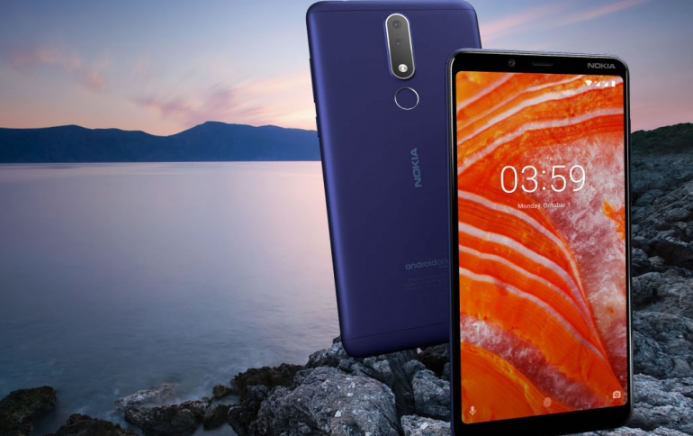 HMD Releases the Nokia 3.1 Plus